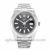 Hombre Rolex Datejust Ii 116334 41 MM Caja Movimiento automático Esfera negra