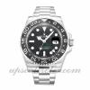 Hombre Rolex Gmt Master Ii 116710 Ln 40 MM Caso Movimiento automático Dial negro