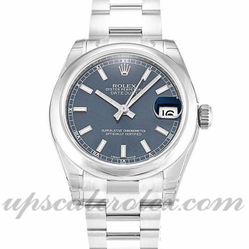 Ladies Rolex Datejust Lady 178240 31 MM Case Automatic Movement Blue Dial