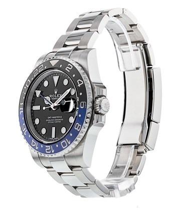 Rolex GMT-Master II 116710 Reloj para hombre de 40 mm con esfera negra