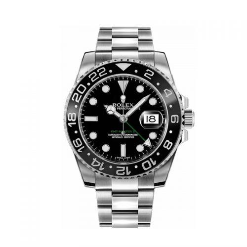 Rolex GMT-Master II 116710LN Reloj automático negro de 40 mm para hombre